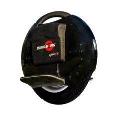 Моноколесо Kingsong 14DS (680Wh) черное, вид сбоку