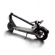 Черный Xiaomi Mijia Electric Scooter сложенный